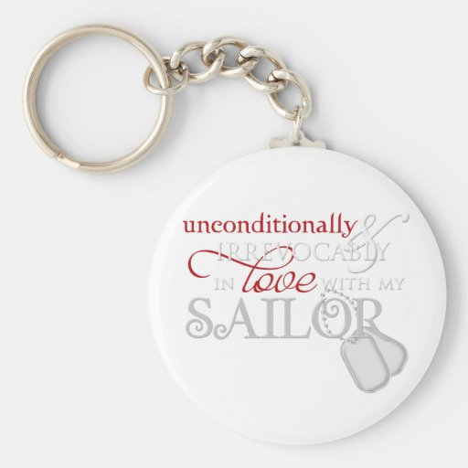 Unconditionally In Love With My Sailor Keychains
