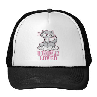 Unconditionally Loved Cat Trucker Hat