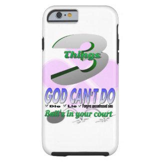 Unconfessed Sins Tough iPhone 6 Case