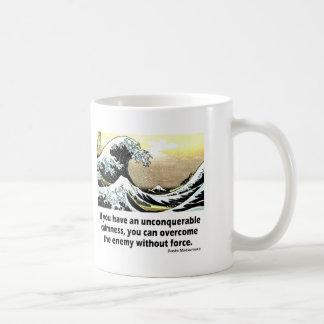 Unconquerable Calmness Classic White Coffee Mug