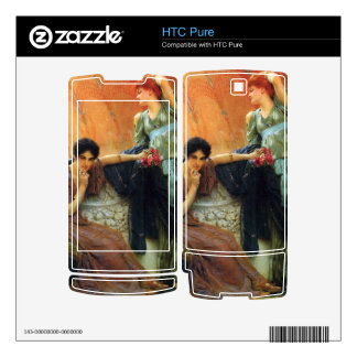Unconscious rivals, detail by Alma-Tadema Decal For HTC Pure