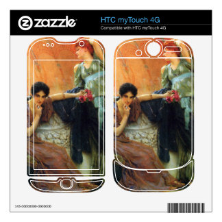 Unconscious rivals, detail by Alma-Tadema Decals For HTC myTouch 4G
