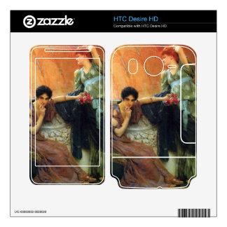 Unconscious rivals, detail by Alma-Tadema HTC Desire HD Skin