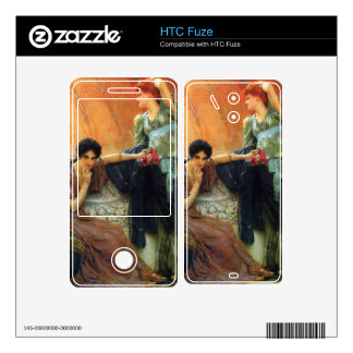 Unconscious rivals, detail by Alma-Tadema Decal For The HTC Fuze