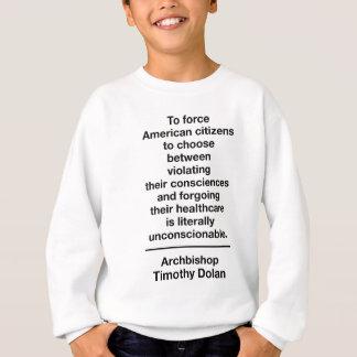Unconstitutional Contraception Mandate Sweatshirt