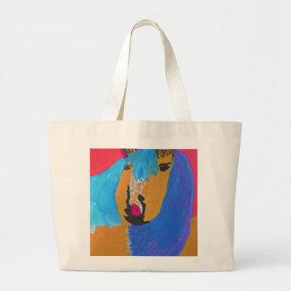 Unconventional  Horse Canvas Bags
