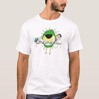 """Unconventional"" Logo White T-Shirt"