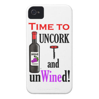 Uncork and Unwined iPhone 4 Case-Mate Case