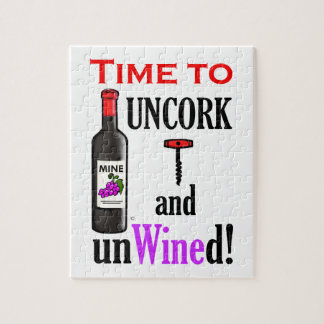 Uncork and Unwined Jigsaw Puzzles