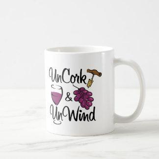 Uncork & Unwind Coffee Mug