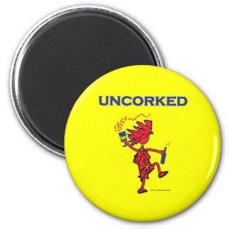 UNCORKED - Celebration Spirit 2 Inch Round Magnet