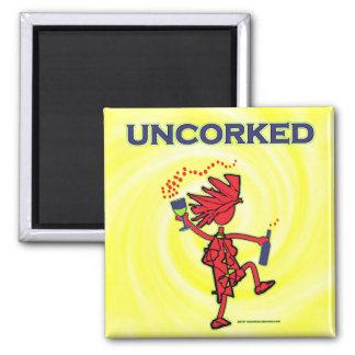 UNCORKED - Celebration Spirit 2 Inch Square Magnet
