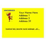 UNCORKED - Celebration Spirit Large Business Cards (Pack Of 100)