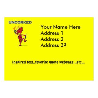UNCORKED - Celebration Spirit Business Card Template