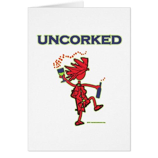 UNCORKED - Celebration Spirit Card