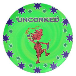 UNCORKED - Celebration Spirit Dinner Plate