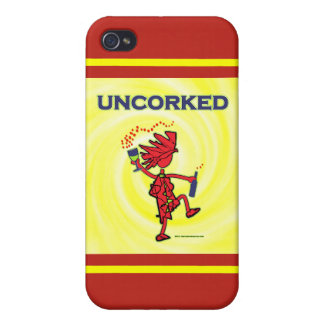 UNCORKED - Celebration Spirit iPhone 4/4S Covers