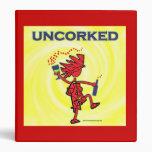 UNCORKED - Celebration Spirit Vinyl Binder