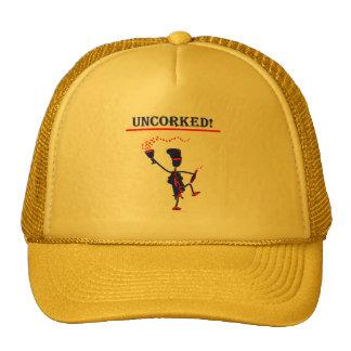 ¡Uncorked! Regalos y camisetas Gorros Bordados