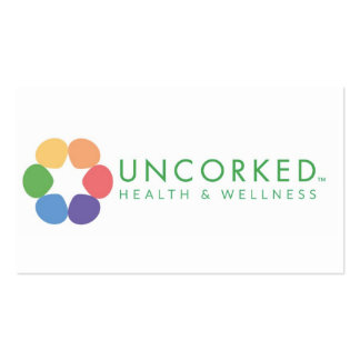 Uncorked Wellness Business Card