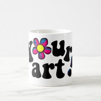 Uncover your Artistic Side! 11 Oz Magic Heat Color-Changing Coffee Mug