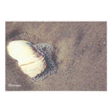 Beach Themed uncovered photo print