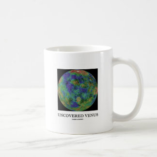 Uncovered Venus (Planet Astronomy) Classic White Coffee Mug