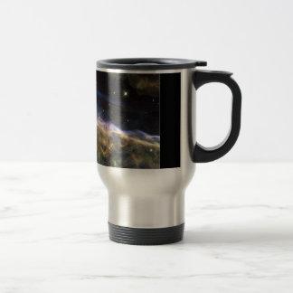 Uncovering the Veil Nebula 15 Oz Stainless Steel Travel Mug