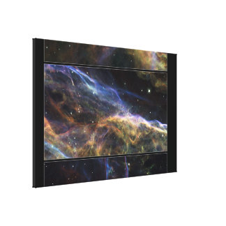 Uncovering the Veil Nebula Canvas Print