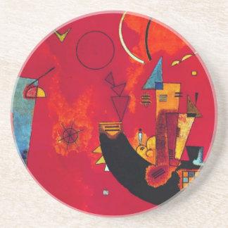 Und Gegen del Mit de Kandinsky Posavasos Manualidades