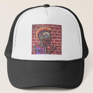 Undead Black Flag Fan Trucker Hat