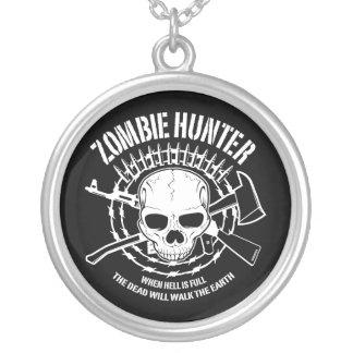 undead del cazador del zombi que viven absolutamen colgante redondo
