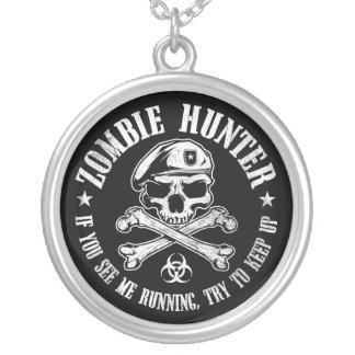 undead del cazador del zombi que viven absolutamen collares personalizados