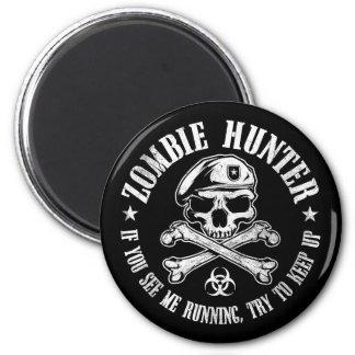 undead del cazador del zombi que viven absolutamen imanes para frigoríficos