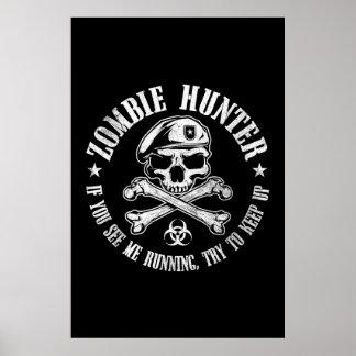 undead del cazador del zombi que viven absolutamen posters