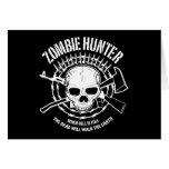 undead del cazador del zombi que viven absolutamen felicitación