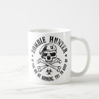 undead del cazador del zombi que viven absolutamen taza básica blanca