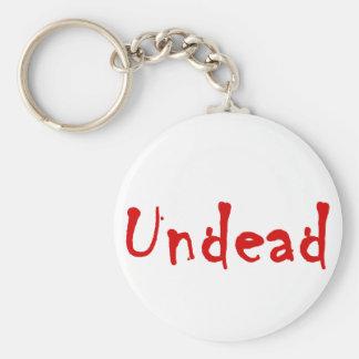 Undead Llavero Redondo Tipo Pin