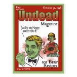 Undead Magazine Personalized Flyer