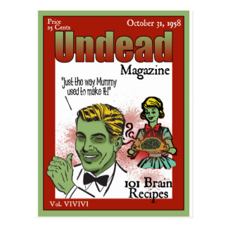 Undead Magazine Post Cards
