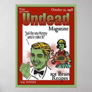 Undead Magazine Poster