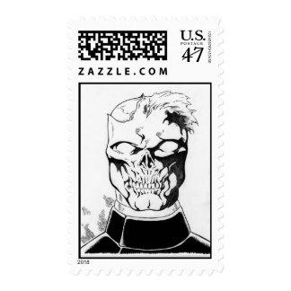 Undead Operator Zombie postage