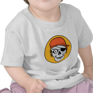 Undead Pirate Badge T Shirt