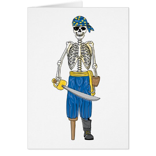 Undead Pirate Card