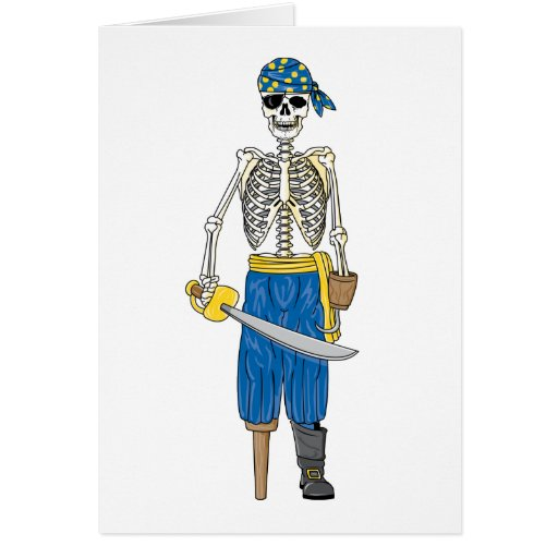 Undead Pirate Cards