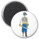 Undead Pirate Refrigerator Magnets