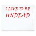 Undead (red) invitations