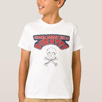 Undead Robot Ninja Pirates T-Shirt