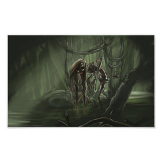 Undead Swamp Maiden Posters