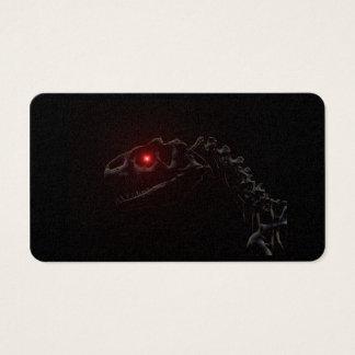 Undead Zombie Dinosaur Skeleton Business Card